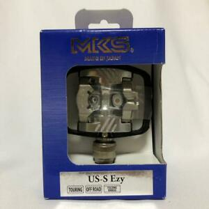 MKS Mikashima Pedal USS Easy US-S Ezy Silver Left and right set