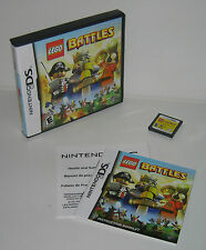 Nintendo DS LEGO Battles Complete Tested Works/Saves Great