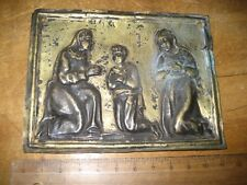 MUSEAL Silber Blech Votiv Barock original antik TOPSELTEN !!!