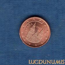 Espagne 2007 1 Centime D'Euro SUP SPL Pièce neuve de rouleau - Spain