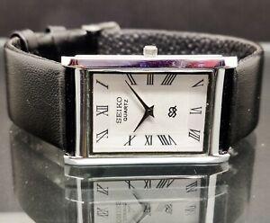 Seiko Quartz Men's Super Slim Steel Excellent Watch working Order