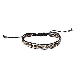 Clayre Armband  Modeschmuck Strasssteine  Silber*Grau/Blau Schwarz*Schmuck