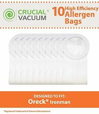 10 Replacements Oreck Xl Ironman Vac Bags Part # Pkim765