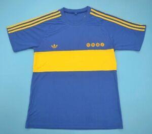 1980/81 Boca Juniors Adidas Originals Diego Maradona Home Jersey Size XL
