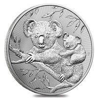 2018 2 oz Silver Australian Koala Perth Mint BU Next Generation Series