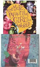 PRINCE the most beautiful girl in the world CD SINGLE usa (case edition)