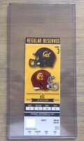 2017 California Golden Bears Football Official Mint Ticket Stub - pick any game!