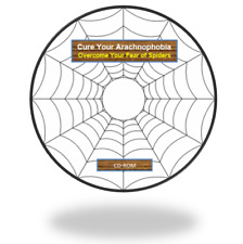 Overcome your Fear of Spiders, Cure Arachnophobia, eBook & Audio MP3 guide on CD