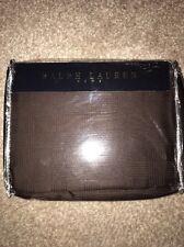 Ralph Lauren glenplaid cubierta del edredón edredón 55 X79 pulgadas BNWT