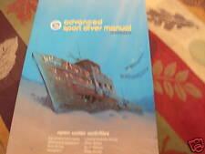 Advanced Sport Diver Manual (1987)