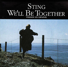 STING-WE´LL BE TOGETHER + CONVERSATION WITH A DOG SINGLE VINILO 1987 SPAIN