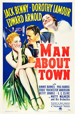 Man About Town 1939 DVD Jack Benny, Dorothy Lamour
