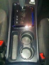 Dodge Challenger Center Console Panel Carbon Fiber Look Overlay SRT-8 RT SE