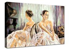 Quadro Moderno Cm 100x70 Stampa su Tela Arredamento Arredo Arte Casa ballerina