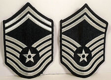 USAF US Air Force Female Senior Master Sergeant Chevrons Stripes Rank Current