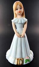 Collector Hallmark Enesco Porcelain Growing Up Girl Figurine Age 10 (E18)