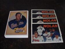 1991 Upper Deck Baseball---Nolan Ryan Heroes---Lot Of 36---See List