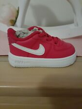 Nike Force 1 - Pink -  Size 4C *only worn once!*