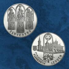Slowakei - Denkmalschutzgebiet Levoča - Levoca - 20 Euro 2017 PP - Silber