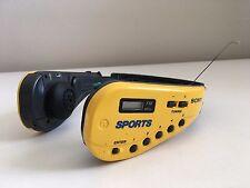 Sony Walkman Sports SRF-M50 AM FM Portable Radio Headphones For Parts Not Workin