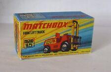 Repro Box Matchbox Superfast Nr.15 Fork Lift Truck