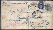 Russia, St Petersbourg 1898 Registered Old Cover