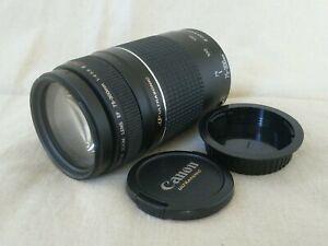 Canon EF 75-300 f/4-5.6 III USM Zoom Lens