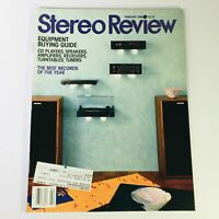VTG Stereo Review Magazine February 1988 - Equipment Buying Guide CD Players