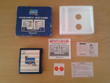 NINTENDO GAME&WATCH MULTISCREEN RAIN SHOWER LP-57 COMPLETE IN BOX CIB NEAR MINT!