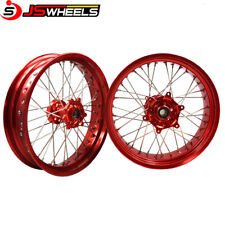 Honda CRF250L 17*3.5/17*4.25 Off road motorcycle CNC alloy Spoked wheels