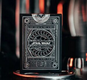 Star Wars Playing Cards Black Dark Side Silver Special Edition by Theory 11 O...