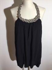 FORNARINA Kleid aus Mailand Gr.XS NP 199,-€ NEUw. LUXUS schwarz