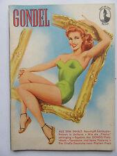 Vintage PinUp - Gondel Magazin Nr 49, Top Zustand, Inhalt siehe Foto