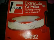Fram CA192 Air Filter Replaces: 42088 A30067 AF178 AF77 AF380 P524351 BA67