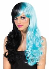 Blue Curly Wigs for Women