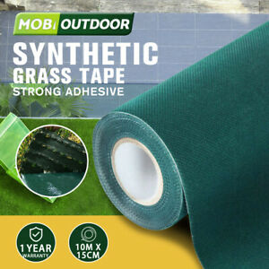 Artificial Grass Self Adhesive 15CMx10M Turf Joining Tape Glue Peel Synthetic