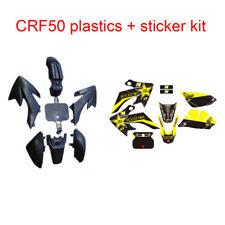 CRF50 Plastics +Fairing Sticker Decal Kit 50/70/90/110/125CC FOR THUMPSTAR DHZ