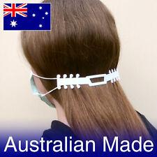 1-50 Face Mask Ear Saver Straps Australian Made Adjustable Head Hook For Masks