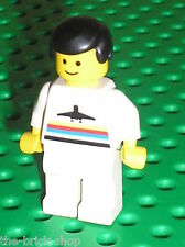 Personnage LEGO avion aeroport minifig ref 973p16 / Set airport 6392 6399 6396..