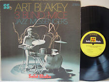 ART BLAKEY - 3 Blind Mice LP (RARE 1968 US Pressing on SOLID STATE) MINT--
