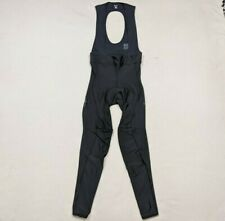 Rapha Core Winter Tights Unpadded Cycling Bib Pants Black Men's Small Thermal