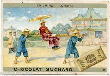 CHROMO. CHOCOLAT SUCHARD. LA CHINE. CHINA.