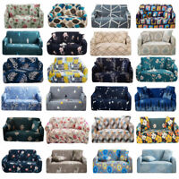 Stretch 1 2 3 4 Seater Sofa Covers Slipcovers Furniture Elastic Couch Chair New