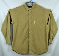 Columbia  Long Sleeve  Corduroy Shirt Sz XL