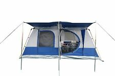 LARGE 4-PERSON FAMILY CAMPING TENT - MODEL LUNAR