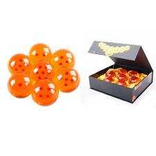 7pcs/Set 3.5cm DragonBall Z Dragon Ball Stars Resin Crystal Ball With Box