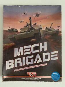 SSI MECH BRIGADE*VINTAGE IBM/PC Game*Tested & Works*