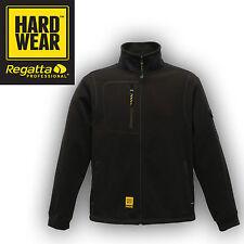 Regatta Jacket Mens Fleece Outdoor Work Sitebase Heavy Duty Hardwear Warm Black M