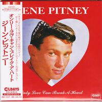 GENE PITNEY-ONLY LOVE CAN BREAK A HEART-JAPAN MINI LP CD BONUS TRACK C94