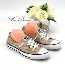 CONVERSE CTAS Shoreline Slip-On Sneakers Women's SZ 9 Casual Shoe Snake Print